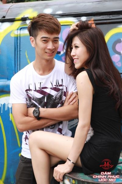 Cặp đôi Trang Pháp và Slim V