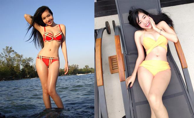 <p> Với thân hình đồng hồ cát, Elly Trần luôn thích diện bikini hơn là tankini để khoe được tối đa vòng eo nhỏ nhắn, bầu ngực và vòng hông nở nang.</p>