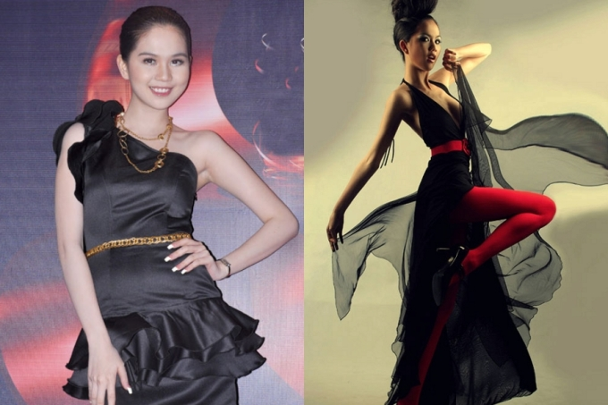 <p> Năm 2010, Ngọc Trinh dần chuyển sang hình ảnh gợi cảm hơn. Tuy nhiên, trang phục cô lựa chọn thường rườm rà, nhiều chi tiết bèo nhún, lộ nhược điểm hình thể.</p>