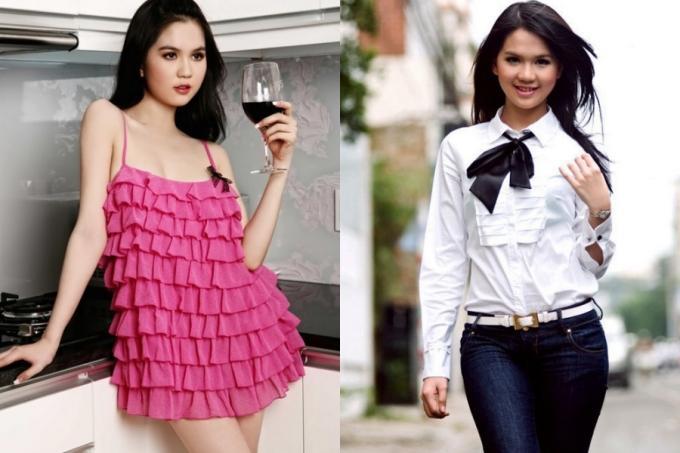 <p> Năm 2009, Ngọc Trinh bắt đầu tham gia chụp các bộ ảnh thời trang. Diễn xuất của của cô lúc này khá cứng nhắc, thiếu cuốn hút.</p>