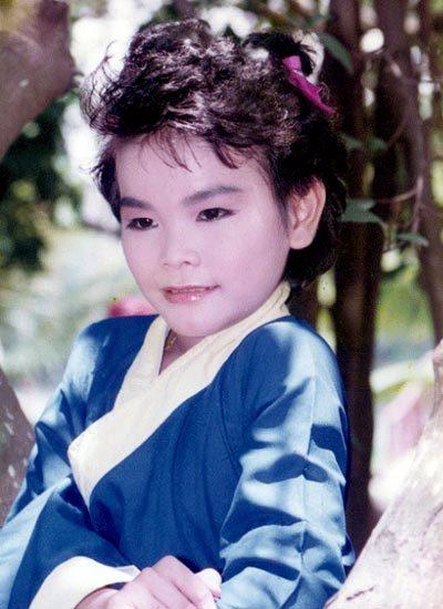 Diễn viên Linh Tý thời bé.
