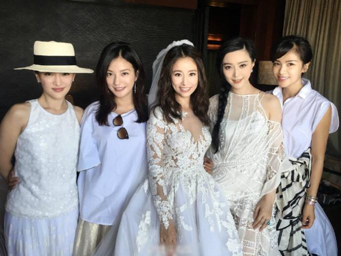 <p> Châu Tấn, Triệu Vy, Lâm Tâm Như, Phạm Băng Băng, Lưu Đào (từ trái sang).</p>