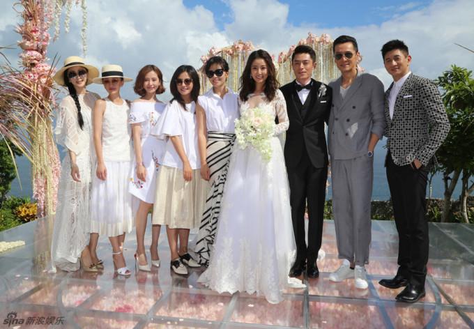 <p> Tham dự đám cưới còn có Châu Tấn, Lưu Thi Thi, Lưu Đào...</p>