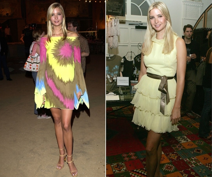"""<p class=""""Normal""""> Trong giai đoạn 2005 - 2006, Ivanka chuyển sang gu mặc nữ tính thay vì năng động, đơn giản như trước. Cô có xu hướng chọn váy ngắn để khoe chân dài. Người đẹp tiếp tục công việc làm mẫu và là gương mặt yêu thích của các tạp chí dành cho doanh nhân như <em>Forbes, Golf Magazine, Avenue, Elle Mexico, Top Choice Magazine</em>.</p>"""