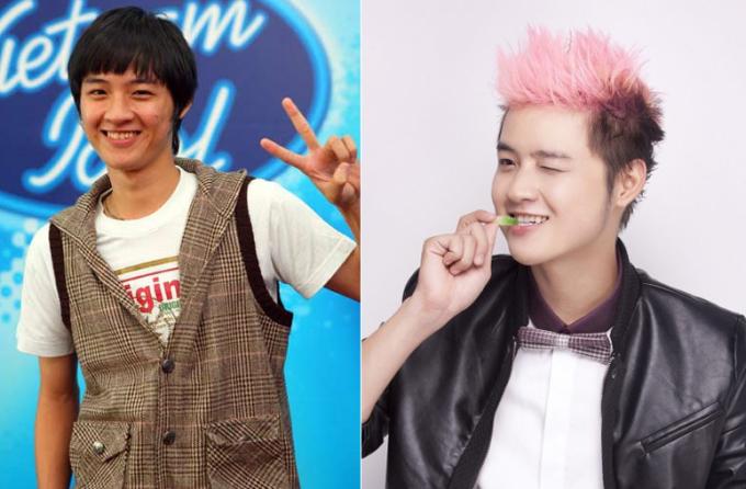 <p> Khi thi Vietnam Idol 2008, Thanh Duy có hàm răng xỉn màu và không đều. Sau chương trình, anh quyết định thay đổi để nụ cười trông sáng đẹp hơn.</p>