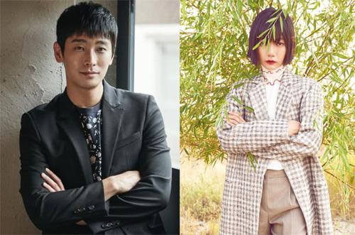 Joo Ji Hoon và Bae Doo Na.