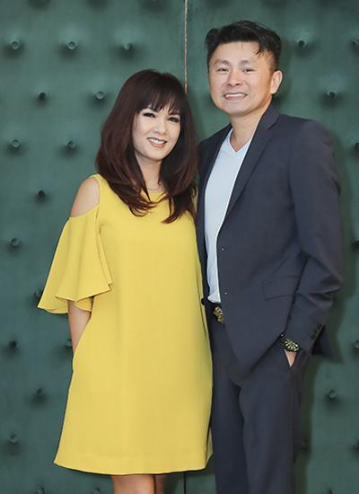 Hoa hậu Kiều Khanh và bạn trai - doanh nhân Steven Khánh Đoàn.
