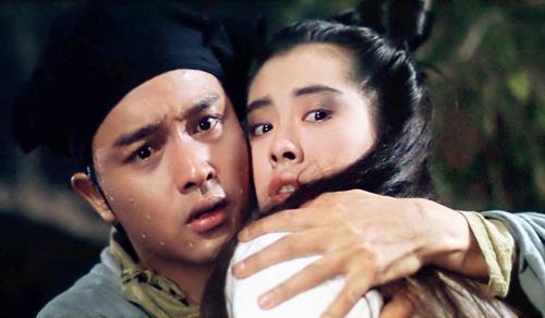 Trương Quốc Vinh và Vương Tổ Hiền trong phim.