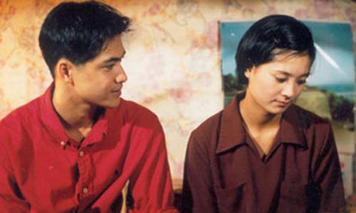 Cặp nhân vật Phong (trái) - Hoài trong Xin hãy tin em.