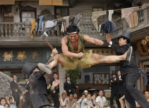 Thích Hành Vũ trong Tuyệt đỉnh kungfu.