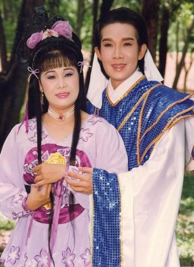 Vũ Linh và Tài Linh, đôi đào kép được yêu thích bậc nhất thập niên 1990. Ảnh: Nghệ sĩ cung cấp.