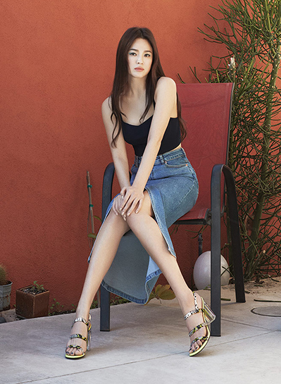 Song Hye Kyo khoe eo