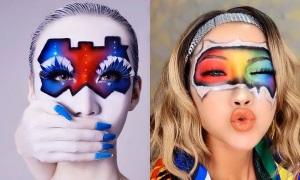 Thông điệp chống Covid-19 qua nghệ thuật make-up