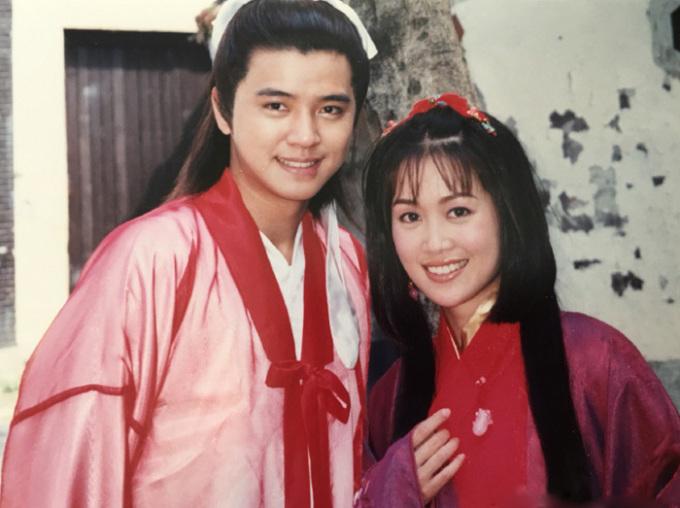 La Chí Tường và Lương Tiểu Băng trong phim. Ảnh: Weibo. La Chí Tường – 'Lương Sơn Bá' lăng nhăng