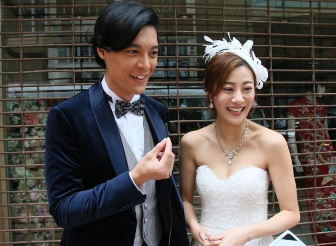 Lê Chấn Diệp và Chu Chí Hiền từng hợp tác trong một số chương trình của TVB. Ảnh: On.