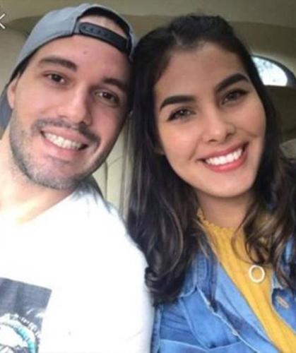 Kimberly và bạn trai, Rafael Fernandes. Ảnh: Instagram.