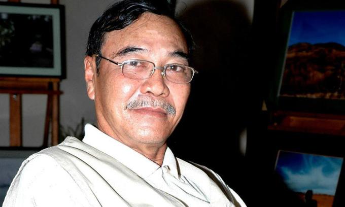 Nhạc sĩ Trần Quang Lộc nổi tiếng với hai ca khúc - Có phải em mùa thu Hà Nội và Về đây nghe em. Ảnh: Nhân vật cung cấp