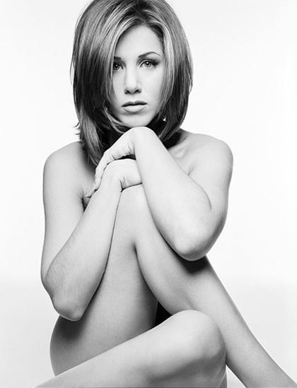 Bức ảnh khỏa thân của Jennifer Aniston được đem đấu giá. Ảnh: US Weekly.