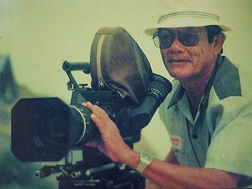 NSND - nhà quay phim Đường Tuấn Ba. Ảnh: Ngọc Lê.