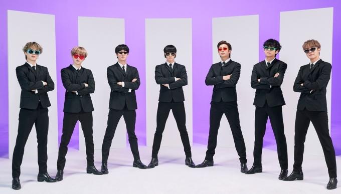 Bảy thành viên BTS. Ảnh: Bighit.