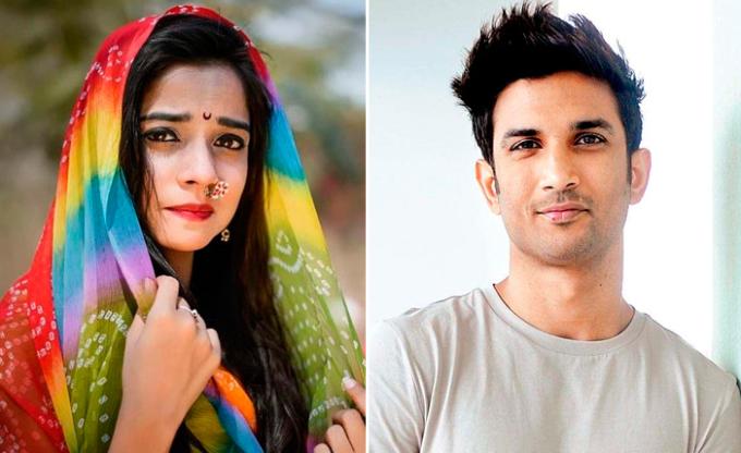 Cố diễn viên Preksha Mehta (trái) và