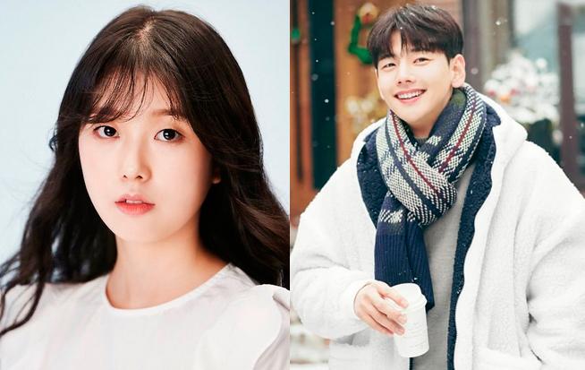 Go Soo Jung (trái) và Park Ji Hoon - những diễn viên Hàn Quốc đoản mệnh. Ảnh: Instagram.