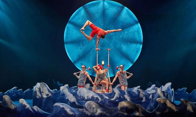 Hình ảnh một buổi diễn của Cirque Du Soleil. Ảnh: Cirque Du Soleil.