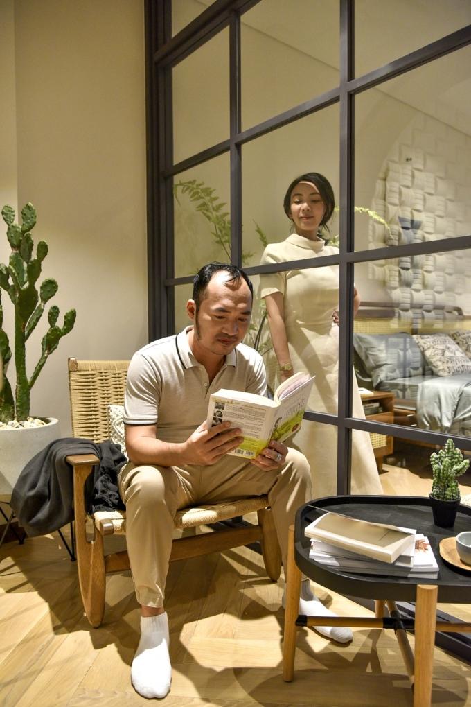 Tiến Luật, Thu Trang đồng điệu quan điểm chọn nơi an cư cho gia đình.