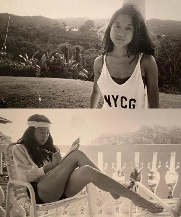 Vera Wang thời trẻ khi mới trở thành biên tập viên thời trang Vogue năm 1972.