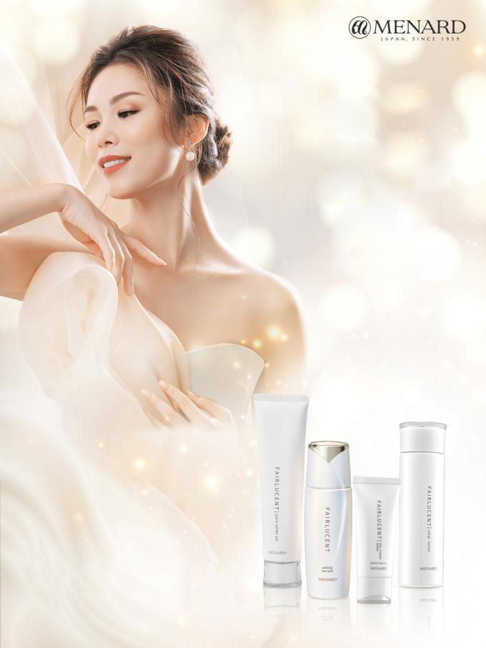 Fairlucent là bộ sản phẩm dưỡng da tại nhà của thương hiệu Menard.