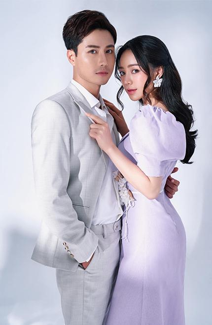Diễn viên Thanh Sơn (vai Duy) và Quỳnh Kool (vai Ngọc). Ảnh: Tuấn Anh Lê.