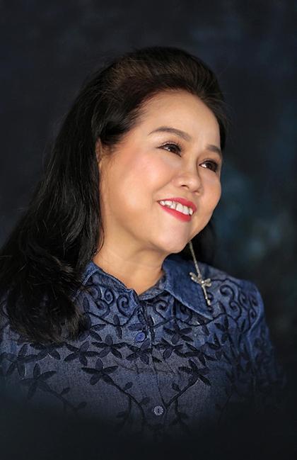 Nghệ sĩ Ái Như là diễn viên gạo cội của sân khấu kịch TP HCM từ đầu thập niên 1990. Ảnh: Hoàng Thái Thanh.