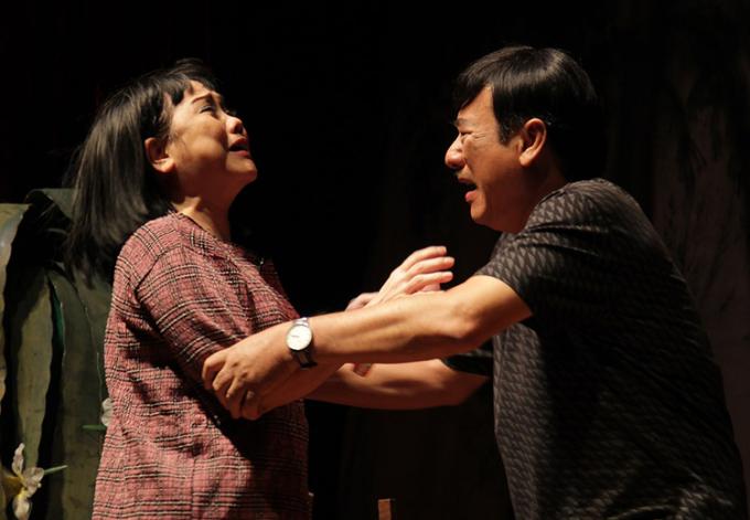 Ái Như - Thành Hội có tình thầy trò hơn 30 năm. Ảnh: Hoàng Thái Thanh.