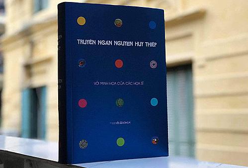 Bìa sách Truyện ngắn Nguyễn Huy Thiệp ấn bản mới. Ảnh: Đông A.