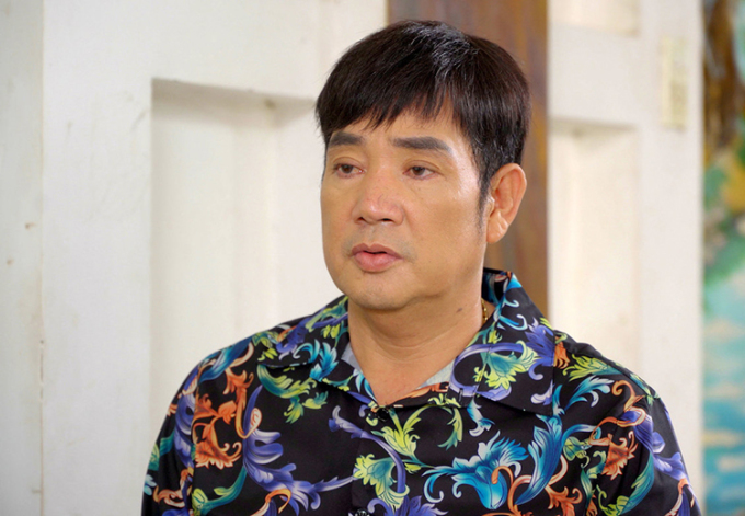 Nghệ sĩ Minh Thành trong web-drama Mẹ tôi là đàn ông. Ảnh: Quỳnh Trang.