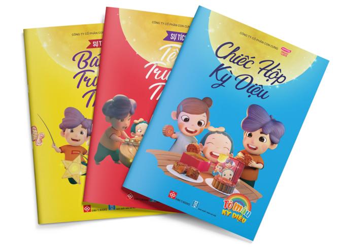 Bộ ba sách tô màu dành cho bé, mẹ bầu và những người muốn giải tỏa căng thẳng.