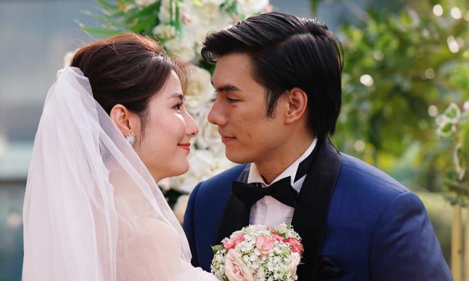 Diễm My 9x (vai Linh) và Nhan Phúc Vinh (vai Minh) trong phim. Ảnh: Hai Nguyen.