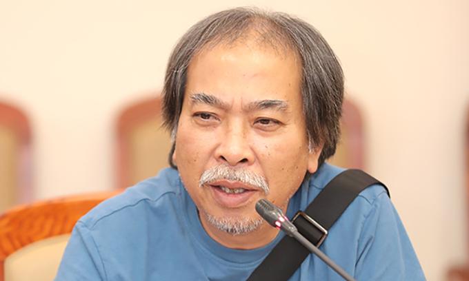 Nhà văn, nhà thơ Nguyễn Quang Thiều ở tuổi 63. Ảnh: TTVH.