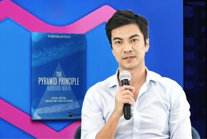 CEO Lazada Việt Nam James Dong chia sẻ đầu sách yêu thích.