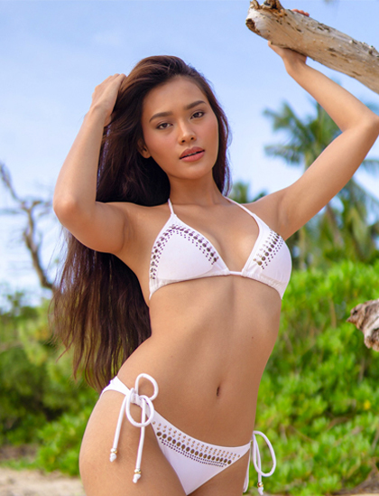 Maria Isabela Galeria thi ảnh áo tắm tại Miss Universe Philippines 2020. Ảnh: MUP.