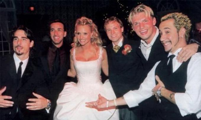 Các thành viên Backstreet Boys trong đám cưới