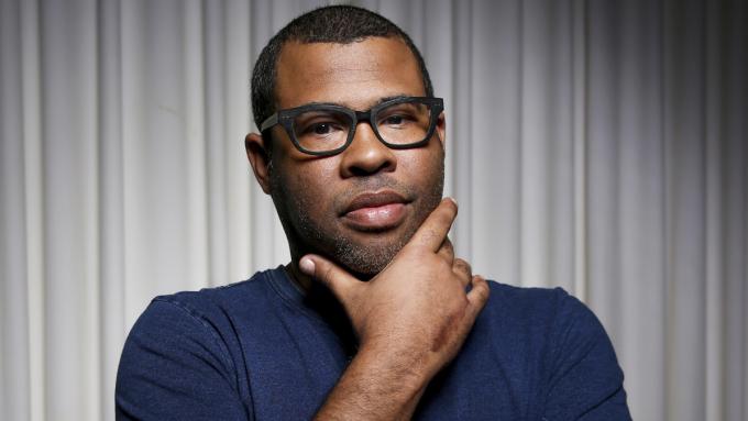 Jordan Peele được xem là người tiên phong làm phim kinh dị về người da màu. Ảnh: Rich Fury/Invision/AP.