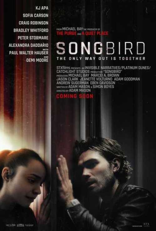 Poster Songbird. Ảnh: Empire.
