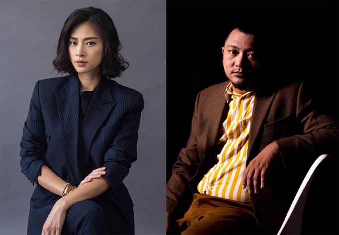 Nhà sản xuất Ngô Thanh Vân (trái) và đạo diễn Phan Gia Nhật Linh. Ảnh: Studio68.