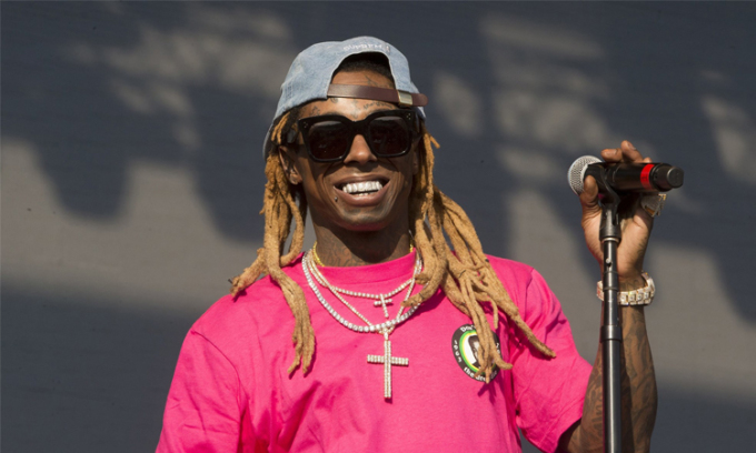 Rapper Lil Wayne. Ảnh: AP>