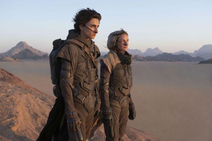 Dune, có Timothée Chalamet đóng chính, là một trong những phim của Warner Bros. được khán giả mong đợi. Phim dự kiến ra mắt ngày 1/10/2021. Ảnh: Warner Bros.