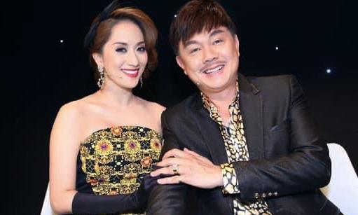Chí Tài khi làm giám khảo Bước nhảy hoàn vũ 2014 cùng Khánh Thi. Ảnh: Facebook Khánh Thi.