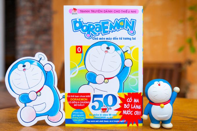 Bản Doraemon Vol.0.  Ảnh: NXB Kim Đồng.