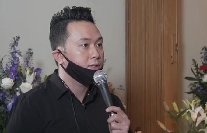 Hàn Thái Tú bay từ bang Texas sang Missouri để cùng gia đình Vân Quang Long lo hậu sự. Ảnh: Hàn Thái Tú.