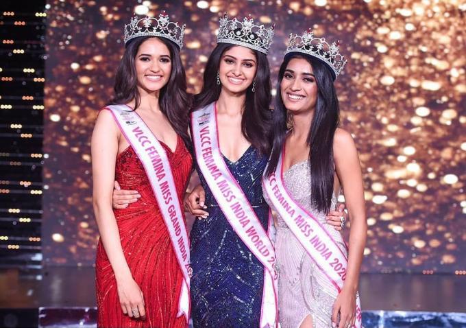 Chung kết Chung kết Femina Miss India diễn ra hôm 10/2 tại Mumbai.